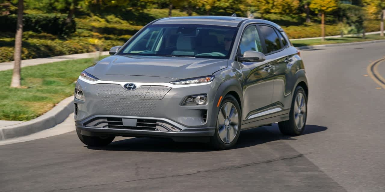 Kona Electric Wins Best Electric Vehicle Award