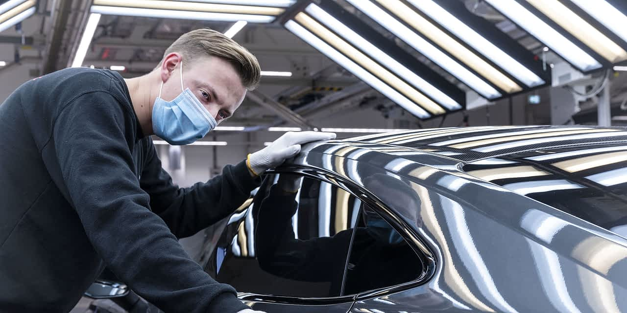 Audi Begins Production of Fully Electric e-tron GT