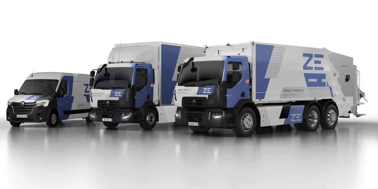 Renault Trucks Electric Offering Grows