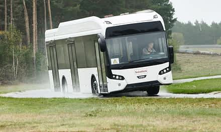 Continental tests Prototype Tires for Electric Buses at the Contidrom