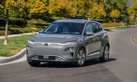 Kona Electric Wins Best Electric Vehicle Award