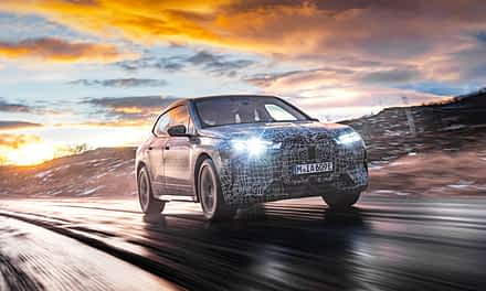 The BMW iX Conducts Final Winter Testing at North Cape