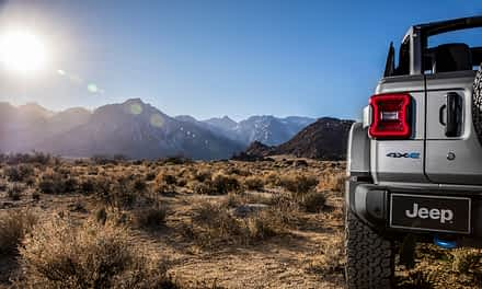 2021 Jeep® Wrangler 4xe Named Hybrid Technology Solution of the Year