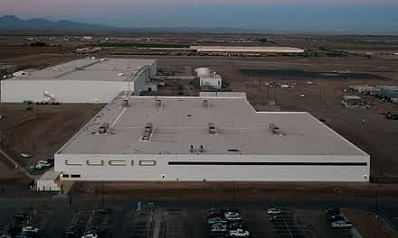 Lucid Motors Production Facility is Now Complete