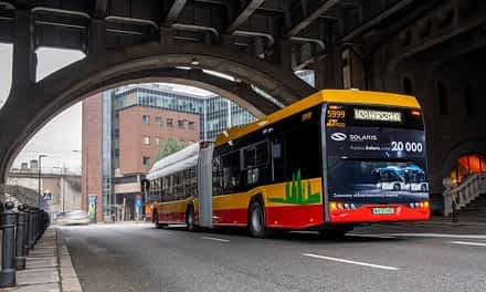 Solaris Builds 20,000th Electric Bus