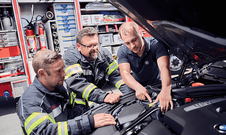 ZF Aftermarket Trains Fire Fighters in Handling Electrified Vehicles